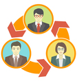 Business Collaboration Concept vector image