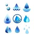 drop water vector image