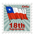national day of Chile vector image