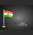 india republic day background vector image