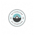 Mountain Design Element vector image