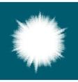 Blue halftone blast EPS 10 vector image