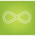 Limitless symbol line icon vector image