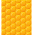 seamless honeycomb wallpaper pattern vector image