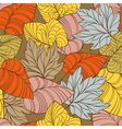 autumn seamless vector image vector image