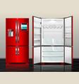 fridge7 vector image
