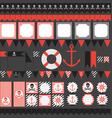 pirat party vector image