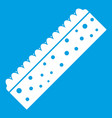 sponge for cleaning icon white vector image