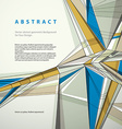 abstract geometric background contemporary style vector image