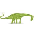 diplodocus dinosaur cartoon vector image vector image