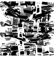 abstract Black seamless pattern graphics vector image