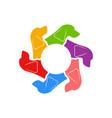 cocker spaniel circle of dogs vector image