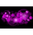 Pink blur vector image