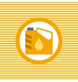 Engine oil color flat icon vector image