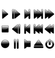 multimedia symbols vector image