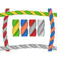 rope brush vector image