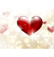 Valentines day or Wedding background EPS 10 vector image