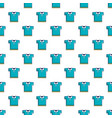 blue polo shirt pattern vector image