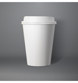 Coffee Cup Photorealistic 3D EPS10 vector image