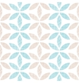 Abstract textile leaves stripes seamless pattern vector image