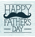 Fathers day mustache vector image