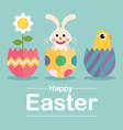 Happy Easter Surprise vector image vector image