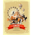 circus fairground carnival vector image