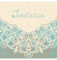 Background with lace vector image