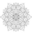 ethnic ornamental art vector image