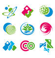 various symbols vector image vector image
