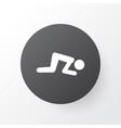 namaz icon symbol premium quality isolated sajdah vector image