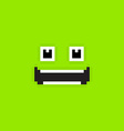 Pixel Face vector image