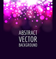abstract bokeh vector image