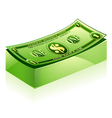 dollar pack vector image