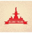 Havis Amanda the symbol Of Helsinki Finland vector image