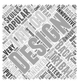 Innovative Tribal Designs Word Cloud Concept vector image