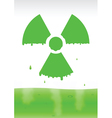 radiation icon2 vector image vector image