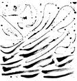 Splatter brushes and Brush Strokes vector image vector image