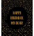 glitter card vector image