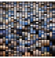 Bright colorful mosaic seamless pattern vector image vector image