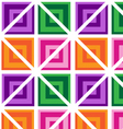 Abstract Squares Seamless Pattern vector image