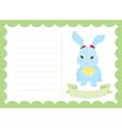 Little Bunny New Born vector image