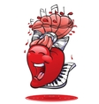 funny hearts collection vector image