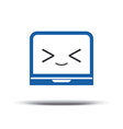 Programmer logo Code Editor Icon Logo design vector image
