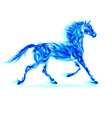 Fair Horse Run W 01 vector image