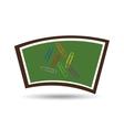 blackboard school icon clips color vector image