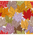 abstract autumn seamless vector image vector image
