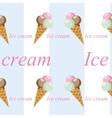 Ice cream image3 vector image