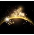 Solar sunrise background vector image