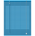 venetian blinds vector image